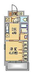 キリンパークサイド[7階]の間取り