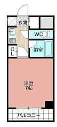 ピュアドーム日赤通り(301)[301号室]の間取り