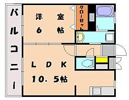 サンシャインビュー[3階]の間取り