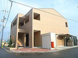 京都府京田辺市三山木柳ヶ町の賃貸アパートの外観