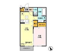 仮)D-room平須町[1階]の間取り