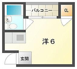 ロータリーマンション藤田町[2階]の間取り