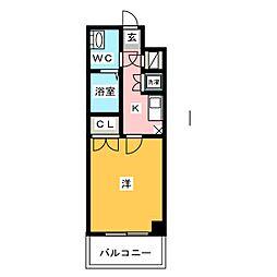 サヴォイレジェント[11階]の間取り