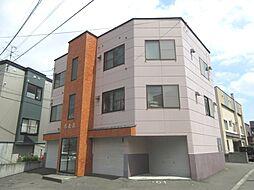 北海道札幌市白石区本通17丁目北の賃貸マンションの外観