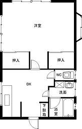 [一戸建] 茨城県つくば市上横場 の賃貸【/】の間取り