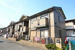 埼玉県新座市西堀2丁目の賃貸アパートの外観