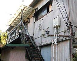 坪井アパート[1F号室]の外観