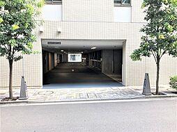 中央区築地7丁目の機械式駐車場