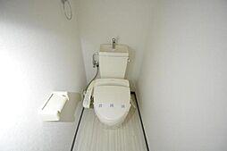 味仙ビルのシャワー付トイレ