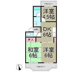 MY LOAD KAMAKURA VOL.1[203号室]の間取り