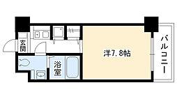 兵庫県西宮市六湛寺町の賃貸マンションの間取り