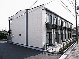 東京都三鷹市上連雀6丁目の賃貸アパートの外観
