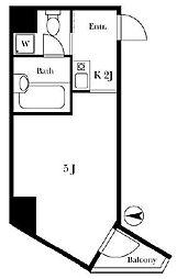 新宿イン[7階]の間取り