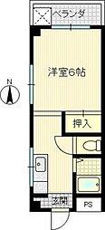 MIOCOURT[2階]の間取り
