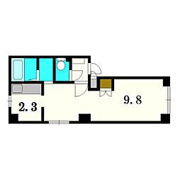 Hibarigaoka B[401号室]の間取り