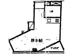 スペースブロンコ[3階]の間取り