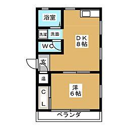 黒川駅 5.2万円