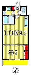 金太郎ヒルズ215[2階]の間取り