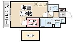 ZONE 1/f Part5[301号室]の間取り