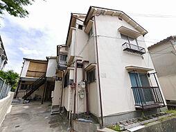兵庫県神戸市北区鈴蘭台北町3の賃貸アパートの外観