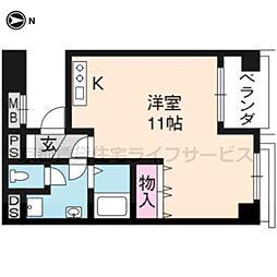 京都友禅文化会館[552号室]の間取り