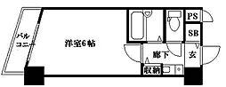 ラナップスクエア新福島[6階]の間取り