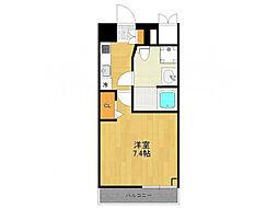 SUN-CLASSO ITAMI[4階]の間取り