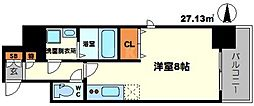 レジディア江坂II[2階]の間取り