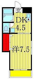 ハイムまことA・B[B101号室]の間取り