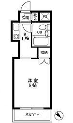 トップ立石NO2[1階]の間取り