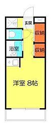 パブリックハイム3号館[1階]の間取り