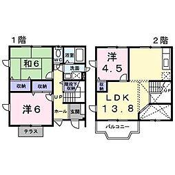 [一戸建] 兵庫県神戸市垂水区清玄町 の賃貸【/】の間取り