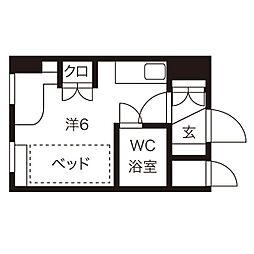 西18丁目駅 3.4万円