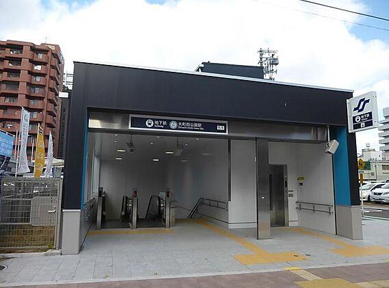 大町西公園駅4...