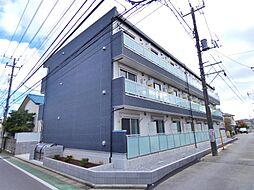 千葉県習志野市本大久保3の賃貸アパートの外観