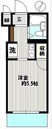 ペガサスマンション渋谷本町第一[4階]の間取り