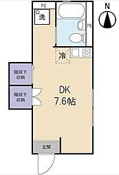 オリナス椎名町[102号室]の間取り