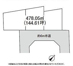 佐倉市井野1409 売地A区画
