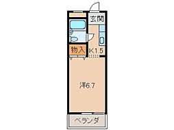 丸八ビル[4階]の間取り