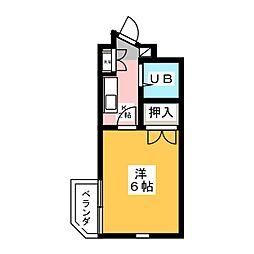 シャトーマグロ[3階]の間取り