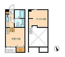 Hale Maluhia[2階]の間取り