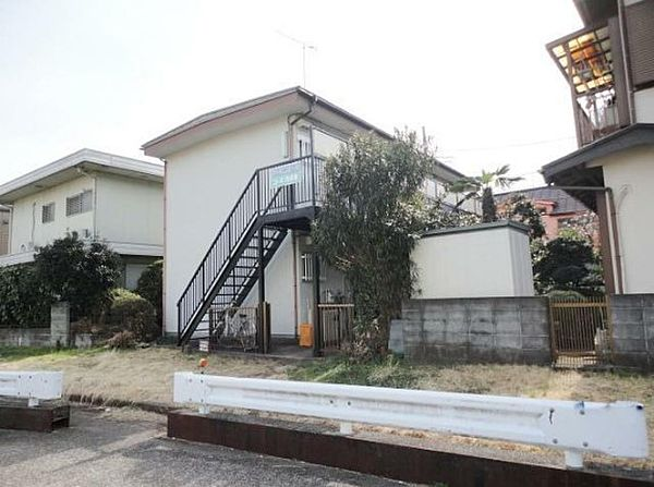神奈川県相模原市南区南台1丁目の賃貸アパートの外観