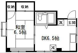 IZUMI BILUDO[201号室]の間取り