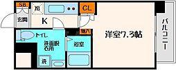アスリート江坂Ⅱ番館[10階]の間取り
