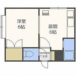 ダイアナ麻生マンション[5階]の間取り