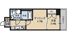 No77HANATEN002[3階]の間取り