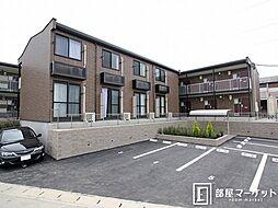 愛知県豊田市市木町1丁目の賃貸アパートの外観