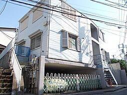 東京都渋谷区富ヶ谷2丁目の賃貸アパートの外観