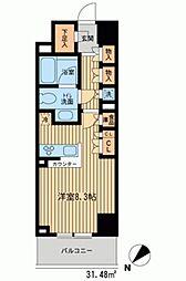 HF新横浜レジデンス[0805号室]の間取り