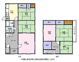 [一戸建] 滋賀県彦根市小泉町 の賃貸【/】の間取り